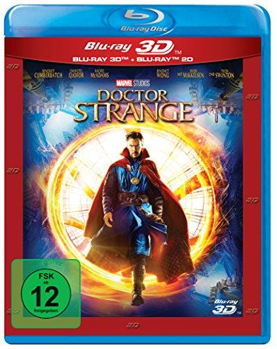 Doctor Strange (3D Blu-ray + 2D) für 12,74€ (Amazon Prime & Dodax & Real)