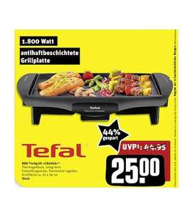 (offline) Rewe-Center: Tefal CB 5005 BBQ Tischgrill