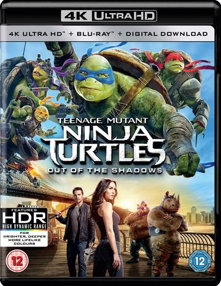 Teenage Mutant Ninja Turtles: Out of the Shadows (4K Ultra HD + Blu-ray + Digital Download) & Serenity (4K Ultra HD + Blu-ray + Digital Download) für je 10,30€ [Zoom.co.uk]
