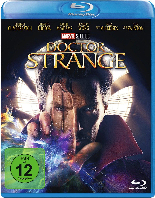 Doctor Strange (Blu-Ray) für 8,24€ (statt 10€)