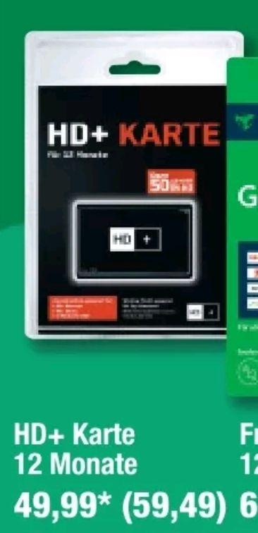 [Metro] HD+ Karte 12 Monate Laufzeit
