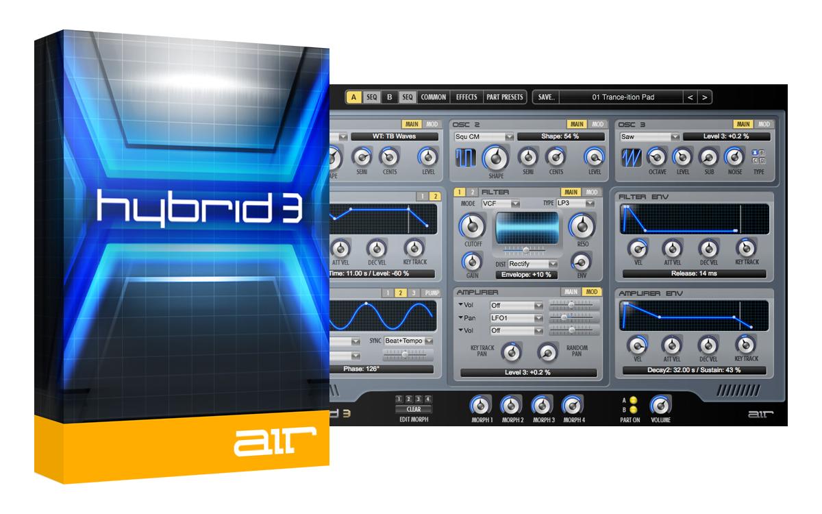 """2x Musikbearbeitungs-Software gratis: """"Air Music Hybrid 3"""" und """"SoundSpot Nebula"""" [PluginBoutique]"""