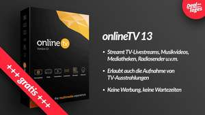 Gratis-Vollversion von onlineTV 13 Plus bei heise