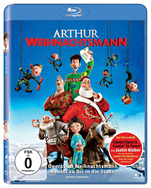 Arthur Weihnachtsmann (Blu-ray) für 3,87€ (Dodax)