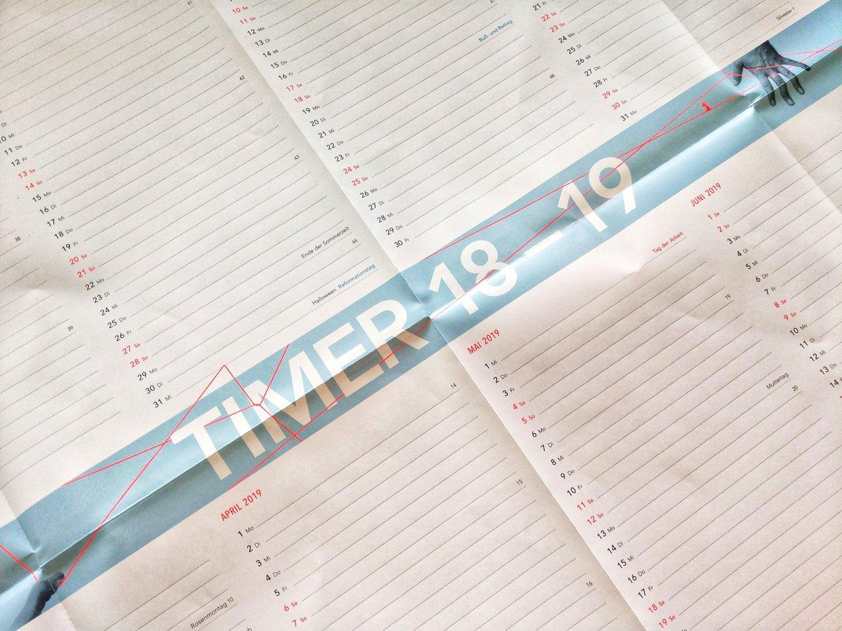 Timer Wandkalender 2018/2019 (Format A1) kostenlos bestellen [bpb]