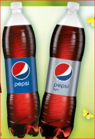 Pepsi und Pepsi light, die 1,5 Liter-Flasche für 44 Cent / 2 Kästen Oettinger Pils für 9,60 Euro [Norma]