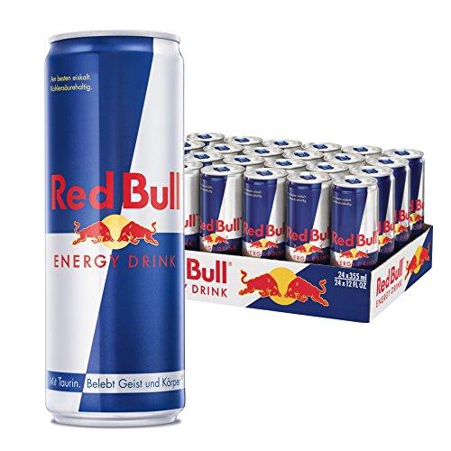 Amazon Tagesangebot 24x Red Bull Energy Drink 355ml Dosen (NICHT die Kleinen) für 35,99€ inkl. Pfand & Versand
