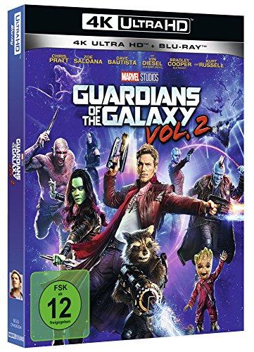 (Amazon Prime) Guardians of the Galaxy Vol. 2 [4K Ultra HD + Blu-Ray] für 20,21 EUR
