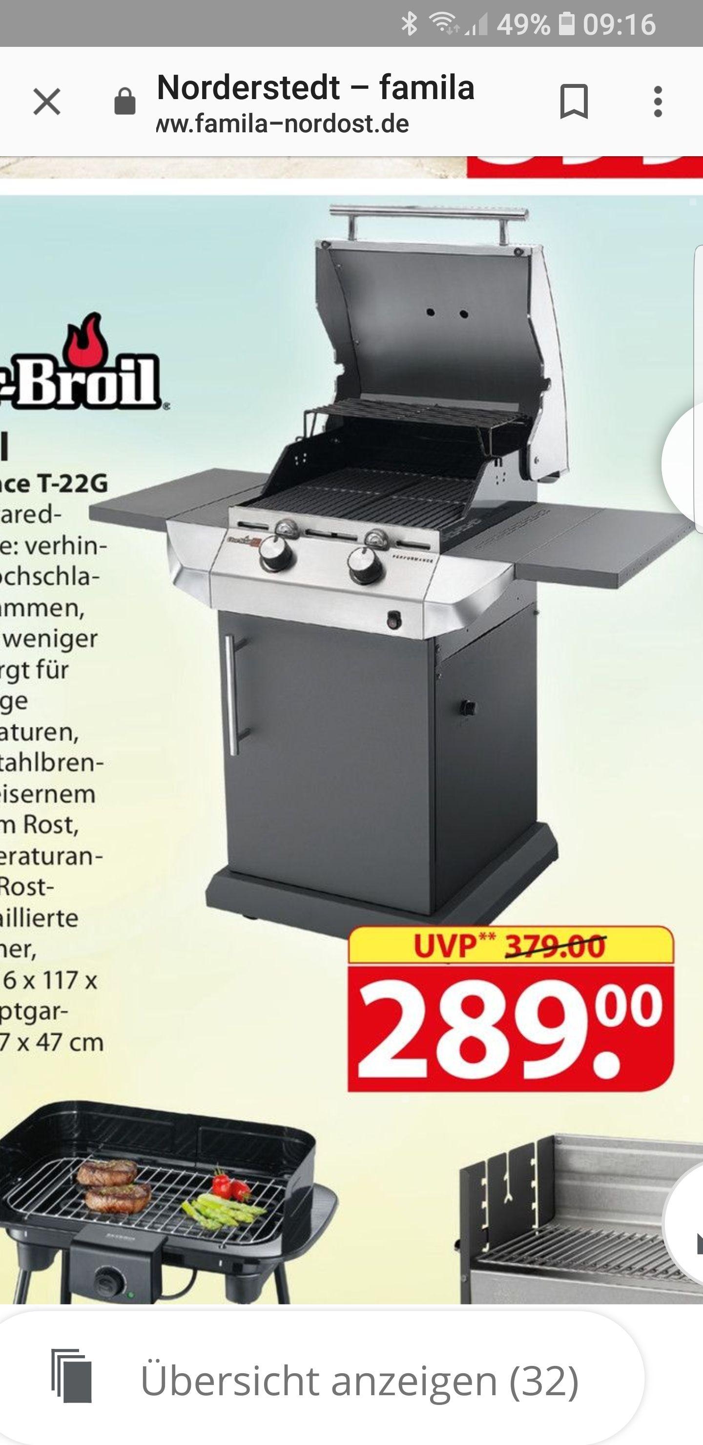 Char Broil Gasgrill T22G