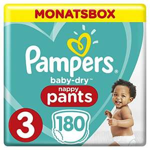 Tages Angebot Pampers Baby Dry Pants Gr.3 Midi 6-11kg MonatsBox spar abo 5€ Rabatt auf pants