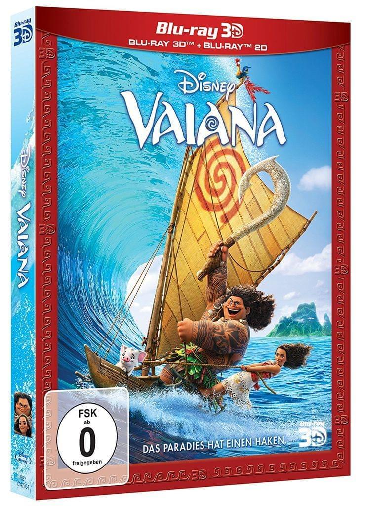 (Real) VAIANA 3D + 2D Blu-ray für 11,99 EUR