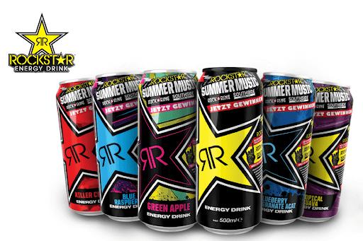 20x 0,50 € Cashback für Rockstar Energy über Scondoo