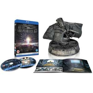 Independence Day - 20th Anniversary Limited Attacker Edition (2 Blu-ray + UV Copy) für 23,88€ (Zavvi)