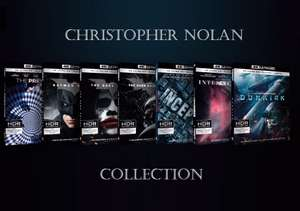 Christopher Nolan Collection 4K Box (21x Blu-ray) für 52,91€ (Amazon.it)