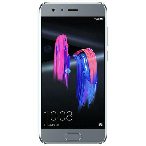 "Honor 9 (Premium) Smartphone 5.2"" - Full HD IPS, Kirin 960, RAM 6 GB, ROM 64 GB, grau (Honor-Store)"