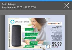 [Lokal]  Wireless Lautsprecher BT-X34 bei Ratio in Ratingen