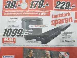 Bose Soundtouch 300 + Acoustimass 300 Lokal Media Markt Gütersloh