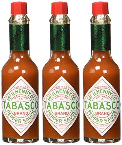 [AMAZON PRIME] TABASCO Red Pepper Sauce, 3er Pack (3 x 60 ml)