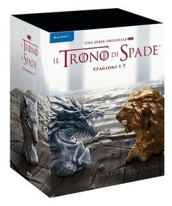 Game of Thrones | Staffel 1-7 Blu-ray 30-Disc-Set | Staffel 2-4 mit dt. Ton [amazon.it]