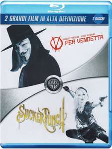V wie vendetta + Sucker Punch (2x Blu-ray) für 10,68€ (Amazon.it)