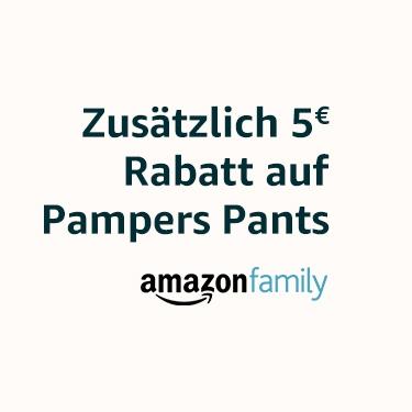 5€ Rabatt auf ausgewählte Pampers Pants (Amazon Family)