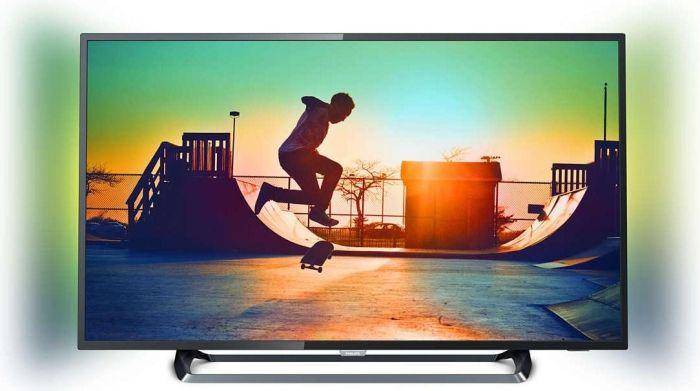 "[ao.de] Philips 55PUS6262/12 - 55"" 4K UHD-Smart TV (3840x2160, 60 Hz, 8bit+FRC, HDR, Triple Tuner mit DVB-T2, Ambilight 2-seitig, WLAN, Miracast)"