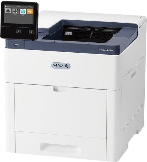 Xerox VersaLink C600DN Farblaserdrucker + 200€ Cashback (2400x1200 dpi, A4 53 Seiten/min (s/w & Farbe), max. Papierzufuhr 700 Blatt, Duplexdruck)