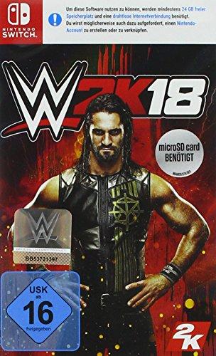 WWE 2K18 (Nintendo Switch) für 13,41€ (Amazon Prime)