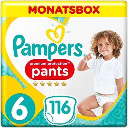 Pampers Premium Protection Pants Sparabo für Prime-Kunden heute 50% reduziert!