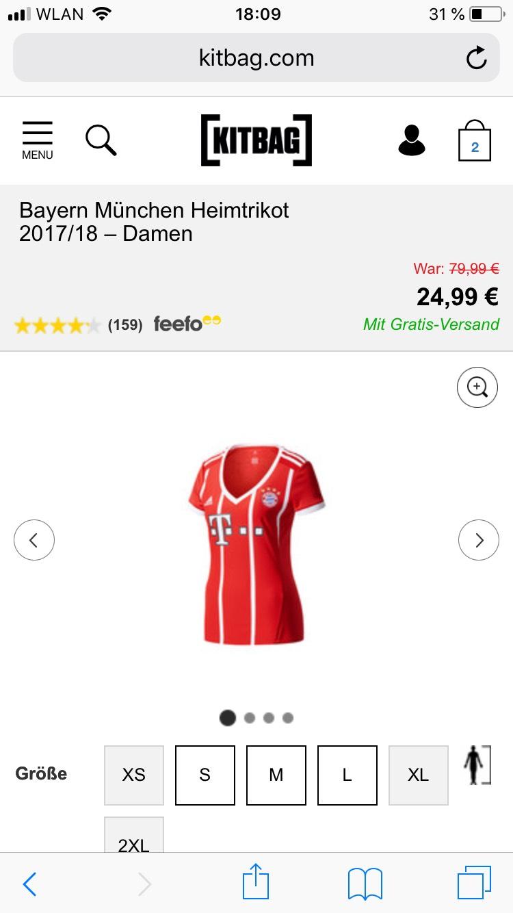 Fc Bayern Trikot Damen