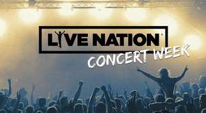"Live Nation Concert Week - 35 Euro ""All in""-Tickets für diverse Konzerte (u.a. Guns N´ Roses. Santana, Queen and Adam Lambert)"