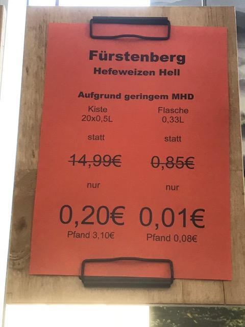 [SD Superdrinks Stuttgart] - Bier, Mischgetränke u.v.m. für 1 Cent/ Fl. & 20 Cent /Kasten