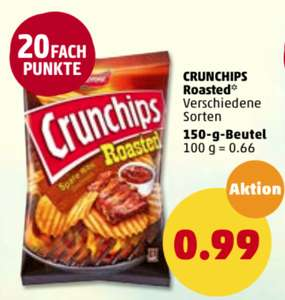 Lorenz Crunchips Roasted 150g 0,99€ bei [Penny]
