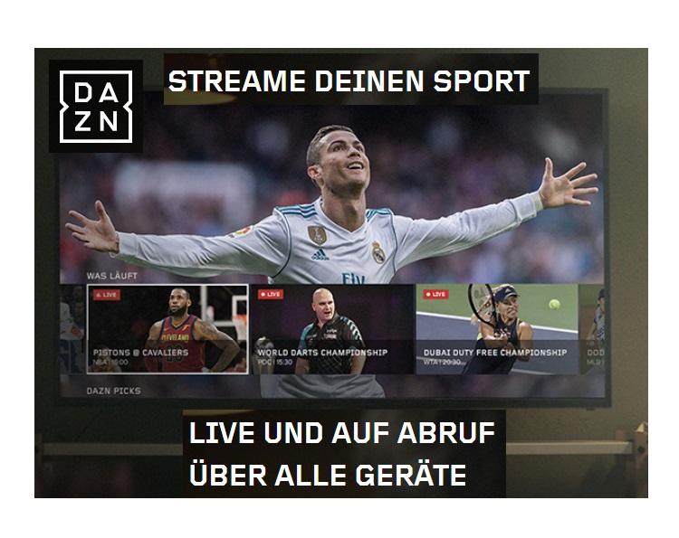 DAZN Sport-TV 30 Tage kostenlos (NBA Finale!)