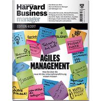 2 Ausgaben Harvard Business Manager für 18,90€ - dazu 15€ Amazon-Gutschein als Prämie
