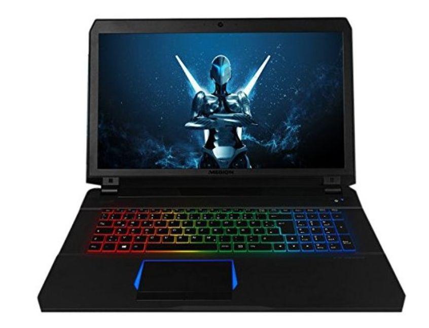 Medion Erazer X7851 MD 60751 Gaming Notebook | 17,3 Zoll Full-HD matt, i5-7300HQ, 16GB RAM, 1TB HDD, 128GB SSD, GTX 1060 6GB GDDR5, Win 10 Home (oder mit i7-7700HQ für 999€)