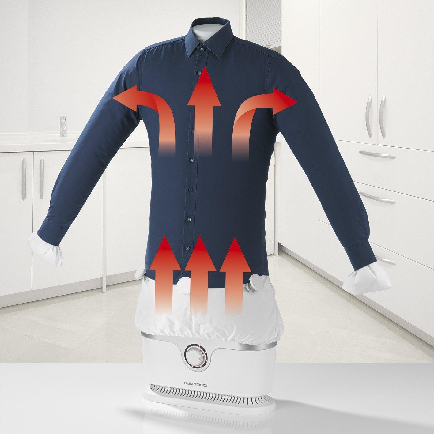 Ibood.de: Cleanmaxx Bügelautomat Hemdenbügler