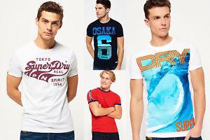 (ebay) Neues Herren Superdry T-shirts verschiedene Modelle und Farben für 13,95 EUR.