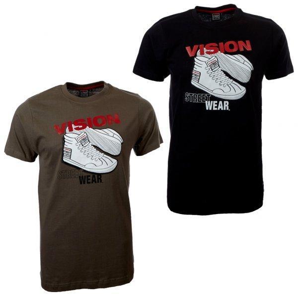 Vision Street Wear Herren Doppelpack T-Shirt 2 St.
