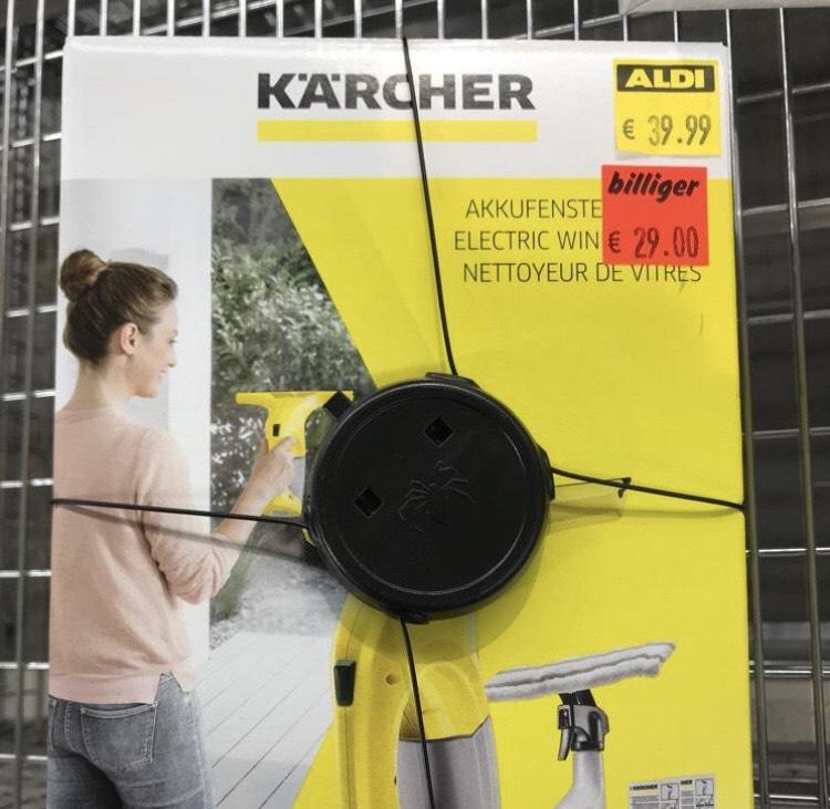 Kärcher Fenstersauger nochmal reduziert bei Aldi (Nord) [LOKAL Hamburg]