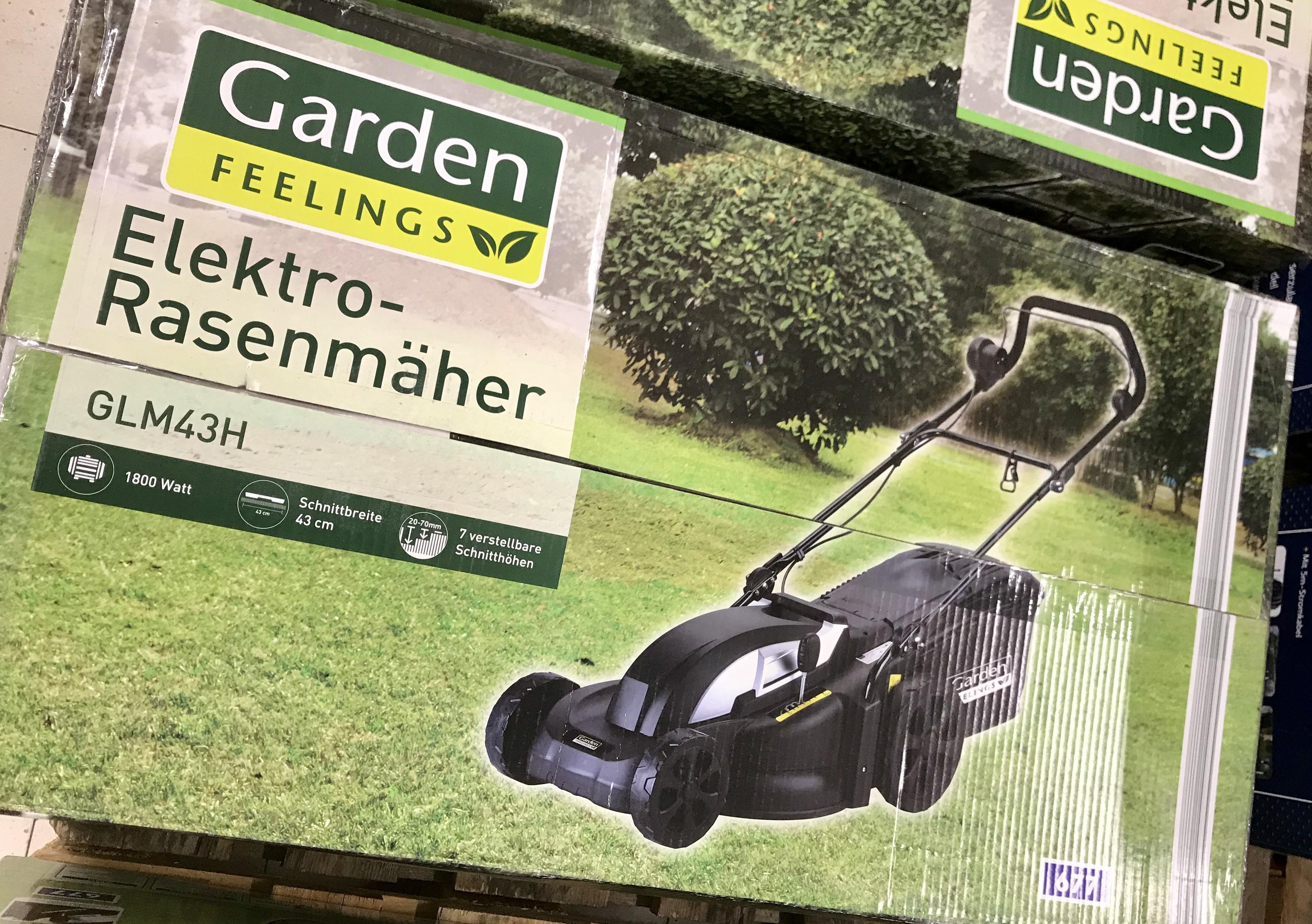 Elektro-Rasenmäher stark reduziert bei ALDI [LOKAL Hamburg]