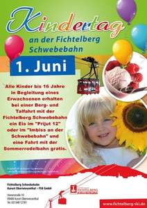 Kindertag an der Fichtelberg Schwebebahn (Kurort Oberwiesenthal)
