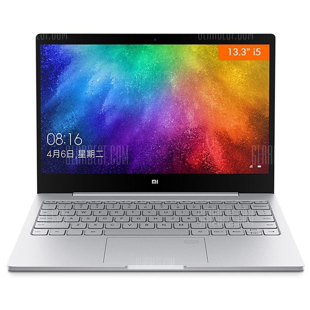 [GearBest EU LAGER] Xiaomi Mi Notebook Air 2017 i5 + 8GB + 256 GB + GeForce MX150 für 601,99€ Bestpreis