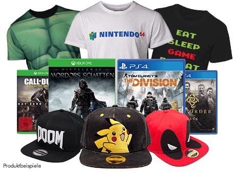 2 für 22€ auf alle Cappys, T-Shirts und eine Auswahl aus gebrauchten PS4 & XB1 Games [Off- & Online]
