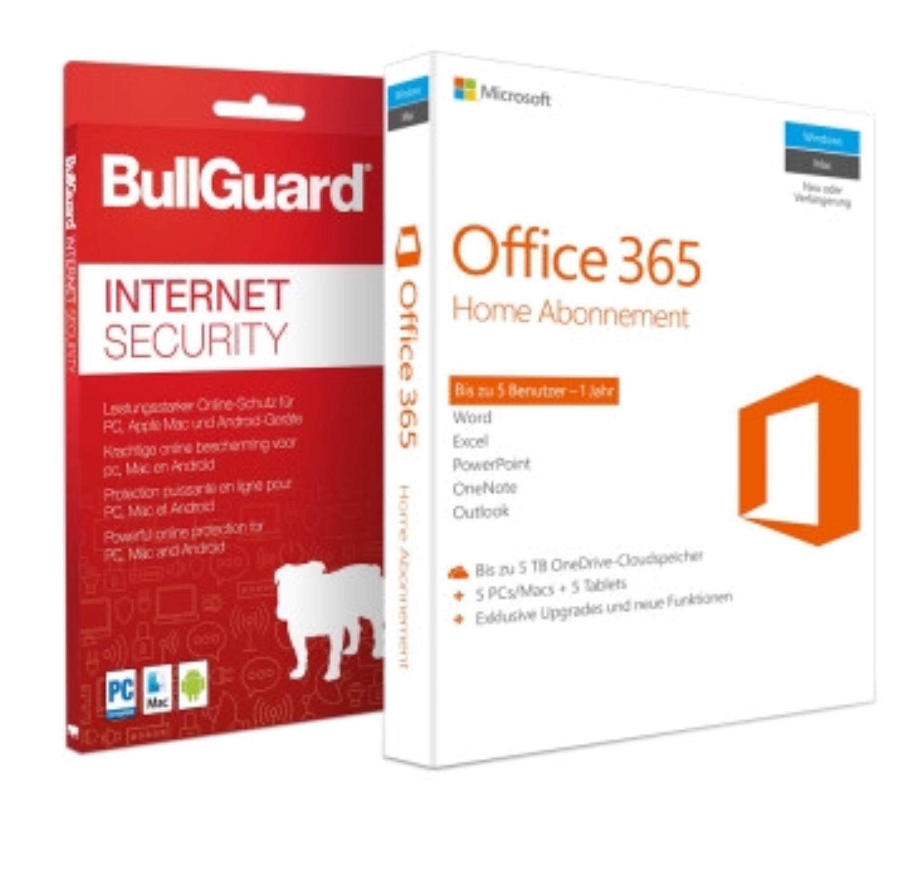 Office 365 Home 5 Geräte inkl. Bullguard Internet Security (5 Geräte)