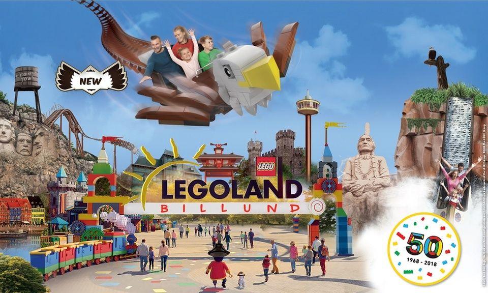 Familientickets für das Legoland Billund