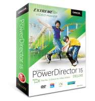 CyberLink PowerDirector 15 Deluxe [für Windows]