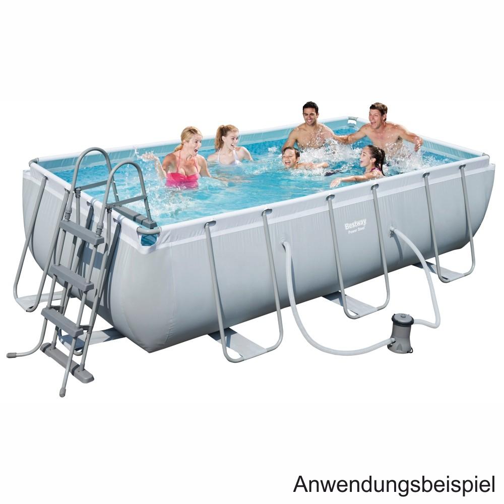 Bestway XXL Swimming Pool inkl. Filteranlage und Sicherheitsleiter Abholung im nächsten sonderpreis-baumarkt