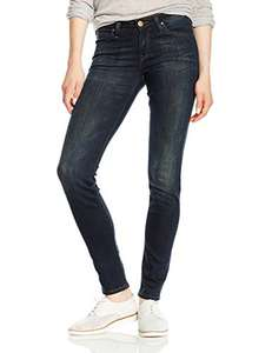 Lee Damen Skinny Jeans Scarlett Größe 26W / 33L