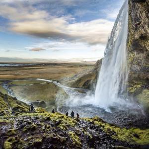 Hin- und Rückflug von Dresden und Bremen nach Reykjavik - Island